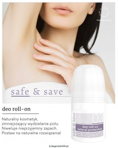 Deo roll-on natural protection 50 ml